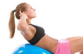Exercise Ball Workout Abs